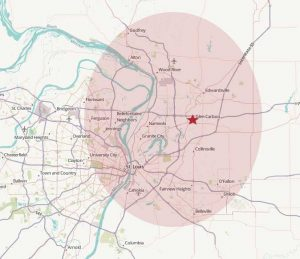 Service Map - Madison County Termite and Pest Control